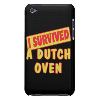 I SURVIVED A DUTCH OVEN BARELY THERE iPod COVERS