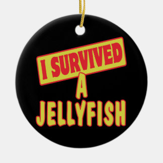 I SURVIVED A JELLYFISH CHRISTMAS ORNAMENT
