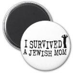 I Survived a Jewish mum - Jew humour Refrigerator Magnet