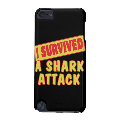 I SURVIVED A SHARK ATTACK iPod TOUCH 5G COVER