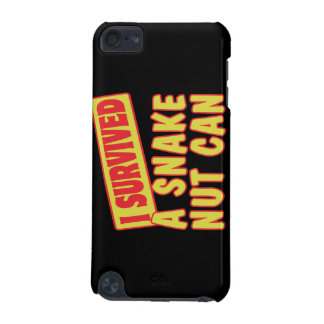 I SURVIVED A SNAKE NUT CAN iPod TOUCH (5TH GENERATION) CASE