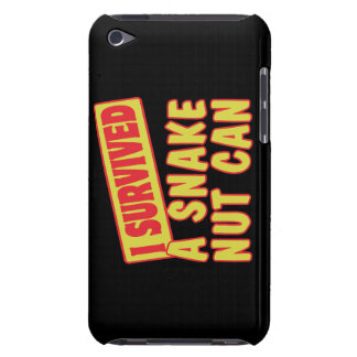 I SURVIVED A SNAKE NUT CAN BARELY THERE iPod CASES