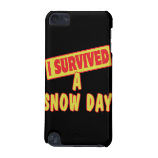 I SURVIVED A SNOW DAY iPod TOUCH 5G COVER
