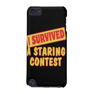 I SURVIVED A STARING CONTEST iPod TOUCH 5G CASE