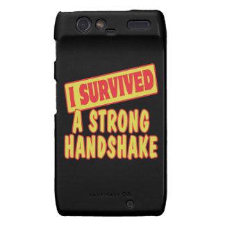 I SURVIVED A STRONG HANDSKAKE DROID RAZR CASE