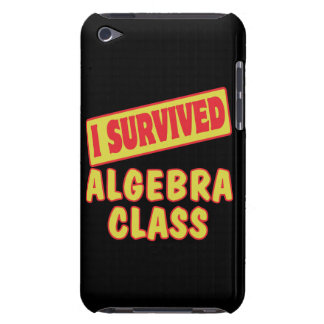 I SURVIVED ALGEBRA CLASS Case-Mate iPod TOUCH CASE