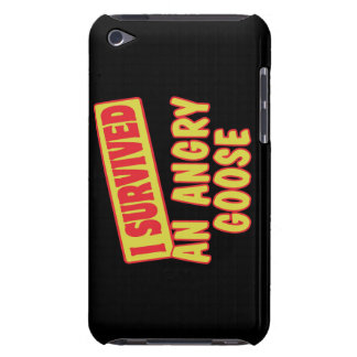 I SURVIVED AN ANGRY GOOSE BARELY THERE iPod COVERS
