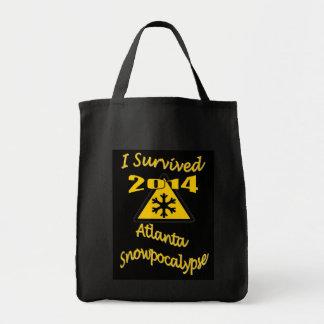 I Survived Atlanta Snowpocalypse 2014 Tote Bag