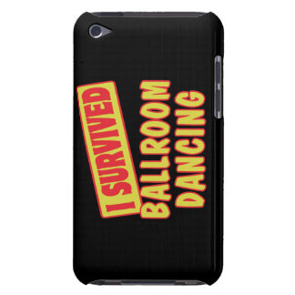 I SURVIVED BALLROOM DANCING iPod TOUCH Case-Mate CASE