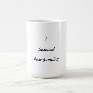 I survived base jumping coffee mugs