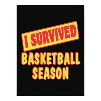 I SURVIVED BASKETBALL SEASON ANNOUNCEMENTS
