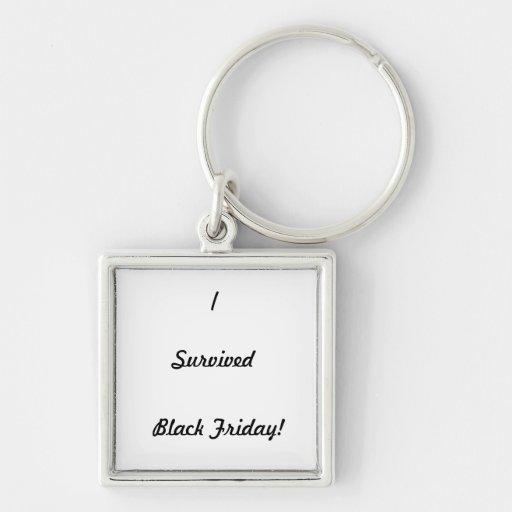 I survived Black Friday! Keychains