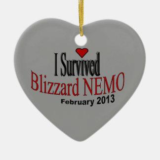 I Survived Blizzard 2013 Ornament