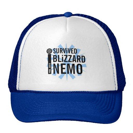 I Survived Blizzard Nemo 2013 Hat 2