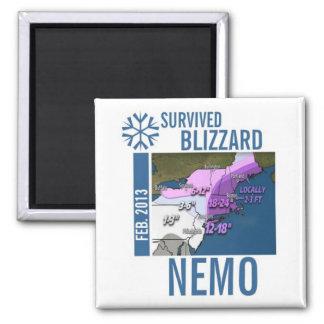 I Survived Blizzard Nemo 2013 Magnet 8