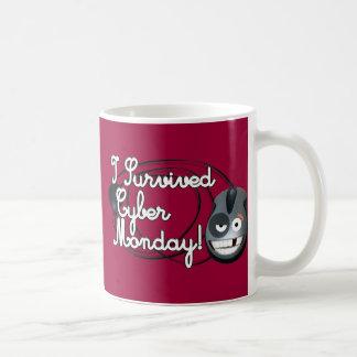 I Survived Cyber Monday Basic White Mug