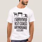 I Survived East Coast Earthquake T-Shirt