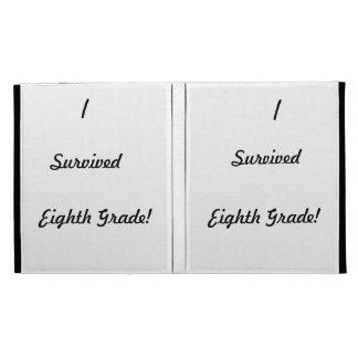 I survived Eighth Grade iPad Folio Covers