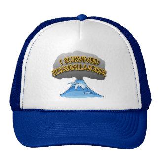I Survived Eyjafjallajokull Volcano Tshirt Trucker Hat