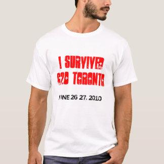 I SURVIVED G20 TORONTO T-Shirt