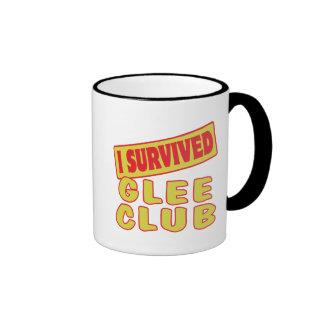I SURVIVED GLEE CLUB MUGS
