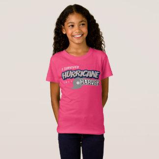 I Survived Hurricane Harvey Girls T-Shirt