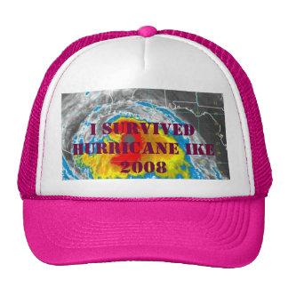 I SURVIVED HURRICANE IKE 2008 HATS