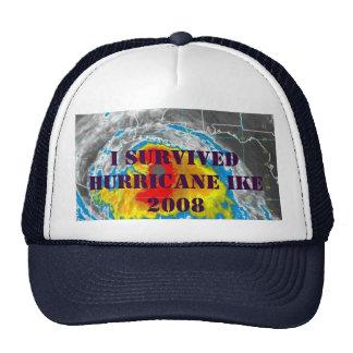 I SURVIVED HURRICANE IKE 2008 MESH HATS