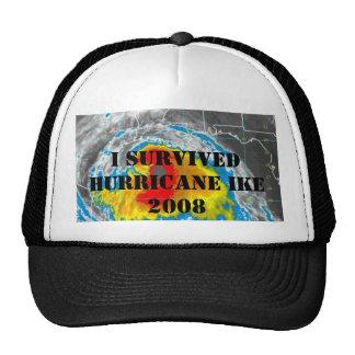 I SURVIVED HURRICANE IKE 2008 TRUCKER HATS