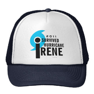 I Survived Hurricane Irene Hat 2