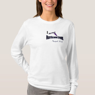 I Survived Hurricane Irene Hoodie Shirt