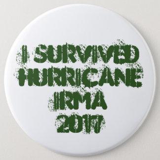 I Survived Hurricane Irma 2017 6 Cm Round Badge