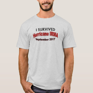 I Survived Hurricane IRMA 2017 Shirt