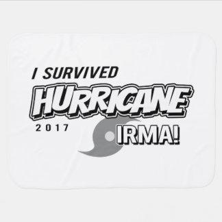I Survived Hurricane Irma Baby blanket
