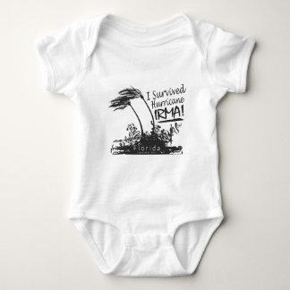 I Survived Hurricane Irma Baby Bodysuit