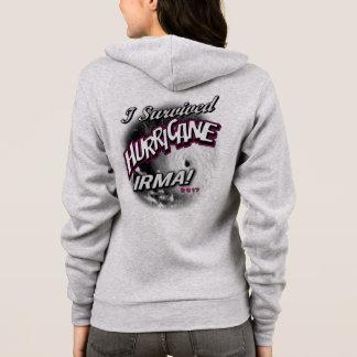 I Survived Hurricane Irma Womens Hoodie Sweatshirt