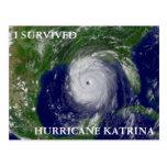 I SURVIVED HURRICANE KATRINA POSTCARD