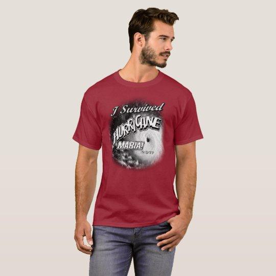 I Survived Hurricane Maria Mens T-Shirt
