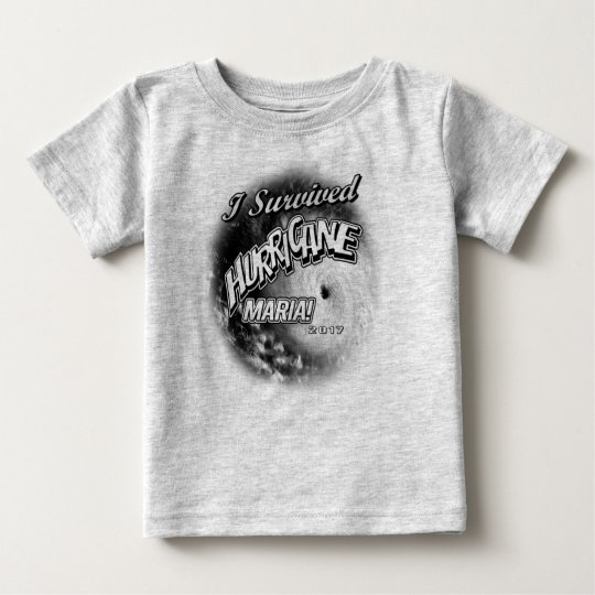I Survived Hurricane Maria Toddlers T-Shirt