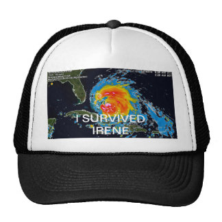 I SURVIVED IRENE MESH HAT