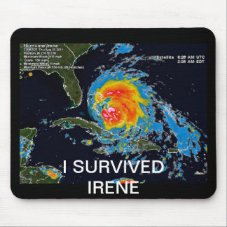 I SURVIVED IRENE MOUSEPADS