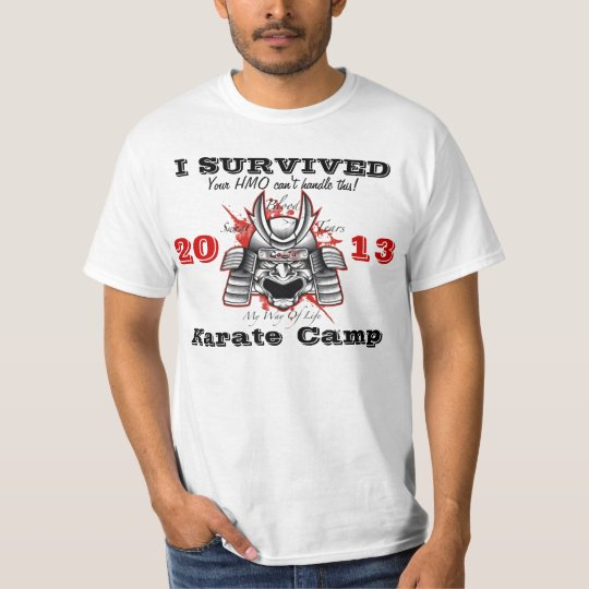 I Survived Karate Camp T-Shirt