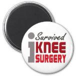 I Survived Knee Surgery Magnet
