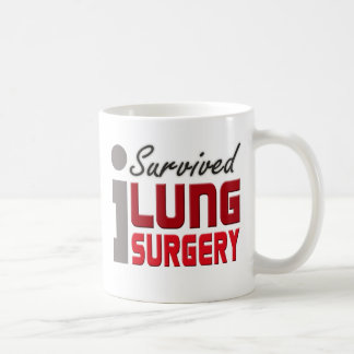 I Survived Lung Surgery Mug