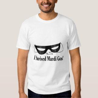I Survived Mardi Gras Shirts
