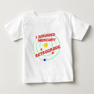 I Survived Mercury Retrograde red T-shirts