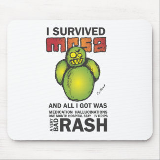 I Survived MRSA Mouse Mat