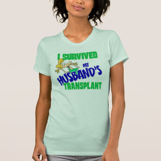 I Survived my Husband's Transplant women's tee