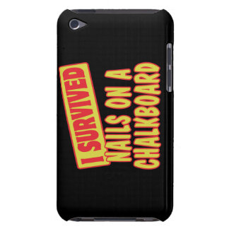 I SURVIVED NAILS ON A CHALKBOARD BARELY THERE iPod CASES