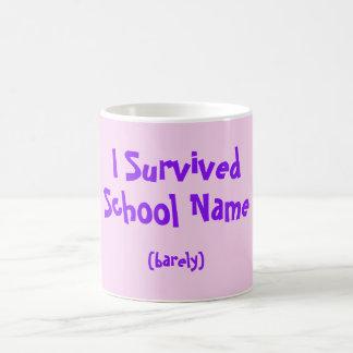 I Survived Named School Mug